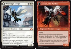 Archangel Avacyn // Avacyn, the Purifier - Foil