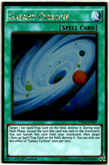 Galaxy Cyclone - PGL3-EN087 - Gold Rare - 1st Edition