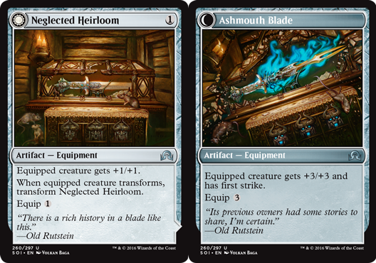 Neglected Heirloom // Ashmouth Blade - Foil
