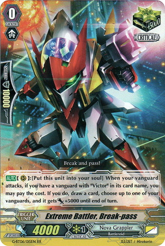 Extreme Battler, Break-pass - G-BT06/015EN - RR