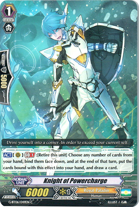 Knight of Powercharge - G-BT06/049EN - C