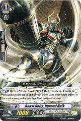 Beast Deity, Horned Hulk - G-BT06/072EN - C on Channel Fireball