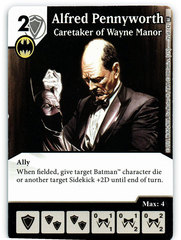 Alfred Pennyworth - Caretaker of Wayne Manor (Card Only)