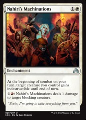 Nahiri's Machinations - Foil