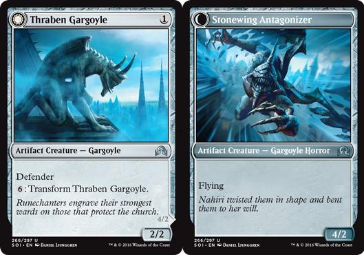 Thraben Gargoyle // Stonewing Antagonizer - Foil