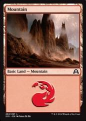 Mountain - Foil (292)(SOI)