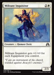 Militant Inquisitor - Foil