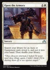 Open the Armory - Foil