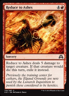 Reduce to Ashes - Foil
