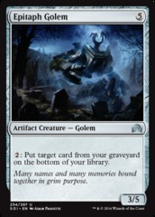 Epitaph Golem on Channel Fireball