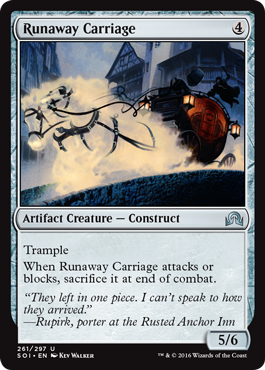 Runaway Carriage - Foil