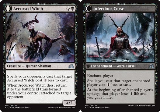 Accursed Witch // Infectious Curse
