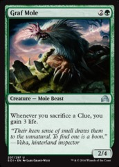 Graf Mole - Foil on Channel Fireball