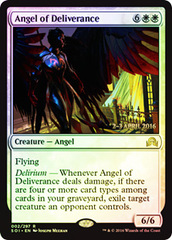 Angel of Deliverance (Shadows over Innistrad Prerelease Foil 2-3 April 2016)