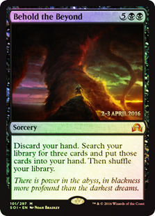 Behold the Beyond (Shadows over Innistrad Prerelease)