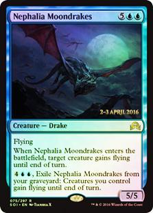 Nephalia Moondrakes - Foil - Prerelease Promo