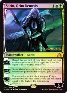 Sorin, Grim Nemesis (Shadows over Innistrad Prerelease)