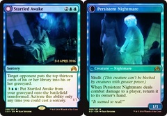 Startled Awake // Persistent Nightmare - Foil - Prerelease Promo