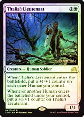 Thalia's Lieutenant (Shadows over Innistrad Prerelease)