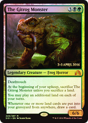 The Gitrog Monster - Foil - Prerelease Promo