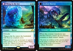 Thing in the Ice // Awoken Horror - Foil - Prerelease Promo