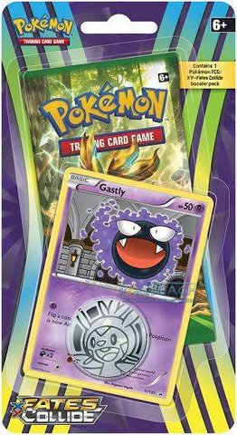 XY - Fates Collide - One-Pack Blister - Gastly Promo