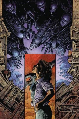 Aliens Defiance #1 (Nelson Variant Cover)