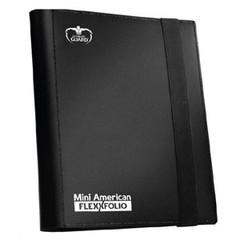 Ultimate Guard - 9 - Pocket Mini American FlexXfolio - Black (Non-Standard Size)