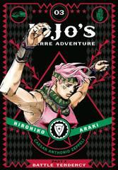 JoJo's Bizarre Adventure: Battle Tendency Hardcover Vol 03