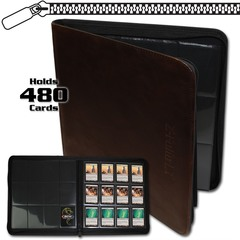 BCW Z-Folio 12-Pocket LT Album - Brown