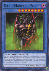 Dark Master - Zorc - MIL1-EN009 - Common - 1st Edition