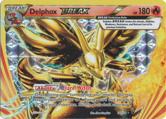 Delphox BREAK - 14/124 - Rare BREAK