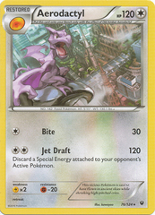 Aerodactyl - 76/124 - Rare on Channel Fireball