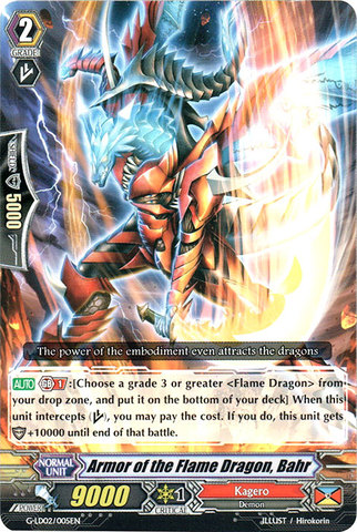 Armor of the Flame Dragon, Bahr - G-LD02/005EN - C