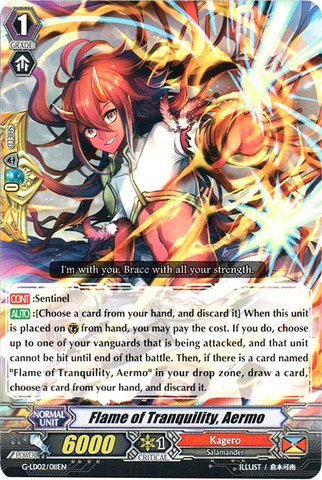 Flame of Tranquility, Aermo - G-LD02/011EN - C