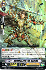 Knight of New Sun, Catillus - G-SD02/007EN on Channel Fireball