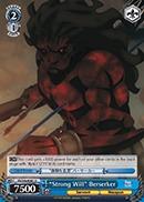 Strong Will Berserker - FS/S36-E081 - U