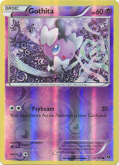 Gothita - 32/124 - Common - Reverse Holo