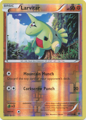 Larvitar - 41/124 - Common - Reverse Holo