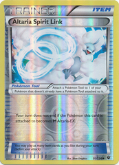 Altaria Spirit Link - 91/124 - Uncommon - Reverse Holo on Channel Fireball