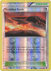 Scorched Earth - 110/124 - Uncommon - Reverse Holo