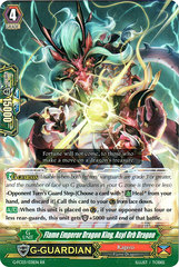 Flame Emperor Dragon King, Asyl Orb Dragon - G-FC03/031 - RR on Channel Fireball