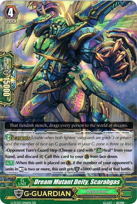 Dream Mutant Deity, Scarabgas - G-FC03/046 - RR