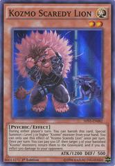 Kozmo Scaredy Lion - SHVI-EN082 - Super Rare - 1st Edition