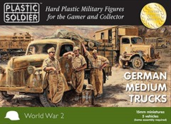 German Medium Trucks (5 vehicles)