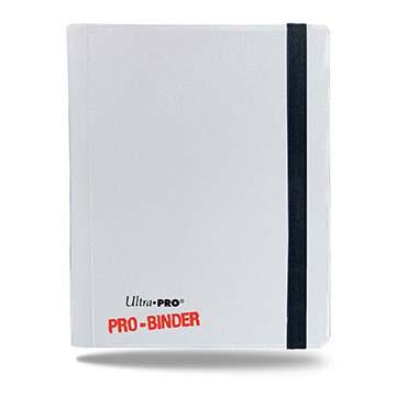 Ultra Pro 4-Pocket Pro-Binder - White