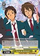 Kyon & Koizumi - SY/WE09-E01 - C - Foil