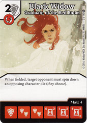 Black Widow - Graduate of the Red Room (Die & Card Combo)