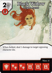 Black Widow - Triple Agent (Die & Card Combo)