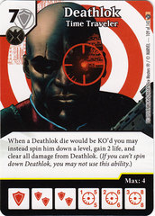 Deathlok - Time Traveler (Die & Card Combo)